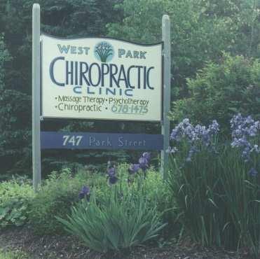 West Park Chiropractic Clinic Signage